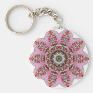 Birthday Cake abstract Key Chains