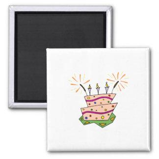 Birthday Cake Clipart Magnet