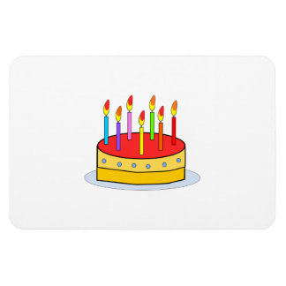 Birthday cake clipart magnets