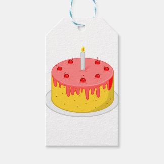 Birthday Cake Gift Tags