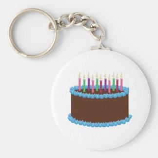 Birthday Cake Key Chains