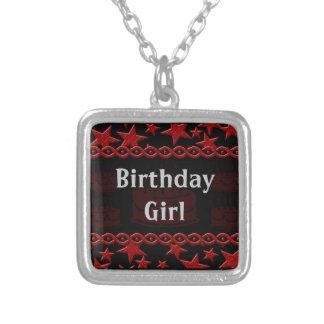 Birthday Cake Rock Star In Red Custom Jewelry