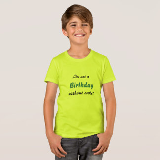 Birthday Cake! T-Shirt