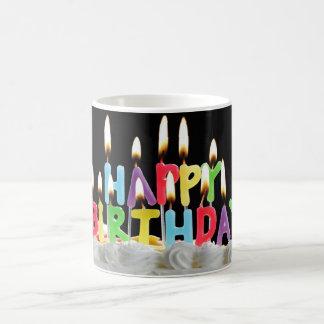 Birthday Candles Basic White Mug