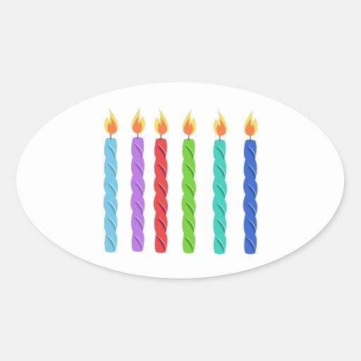 Birthday Candles Sticker