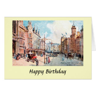 Birthday Card - Auckland, New Zealand