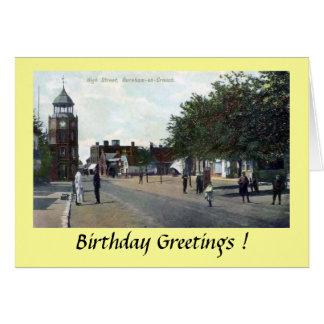 Birthday Card - Burnham-on-Crouch, Essex