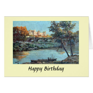 Birthday Card - Carcassonne, Aude, France