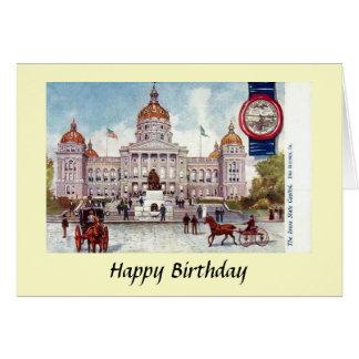 Birthday Card - Des Moines, Iowa, USA