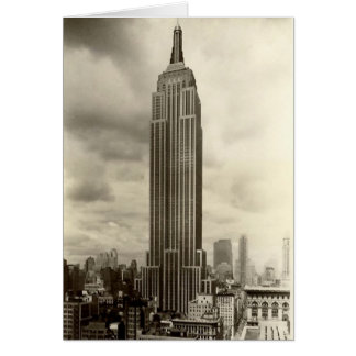 Birthday Card, Empire State Building Card
