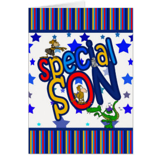 Birthday Card for Son, Special Son
