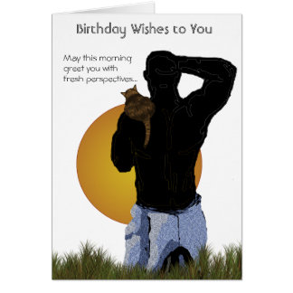 Birthday Card: Fresh Outlook Card