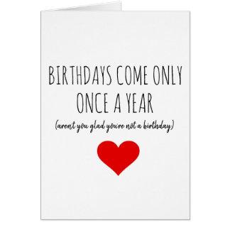 BIRTHDAY CARD FUNNY NAUGHTY