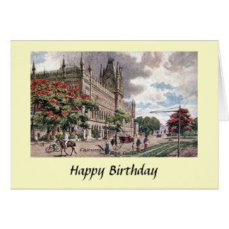 Birthday Card - Kolkata, India