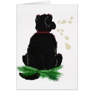Birthday Card~ Newfoundland Dog Card