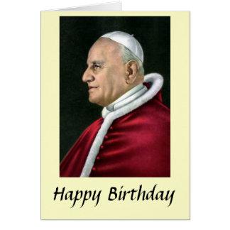 Birthday Card - Pope John XXIII