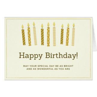Birthday Card - Simplicity