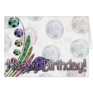 Birthday Card (Soccer)