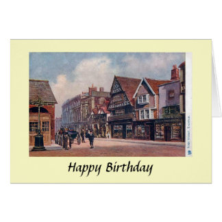 Birthday Card - Taunton, Somerset.