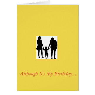 Birthday card to thank your parents