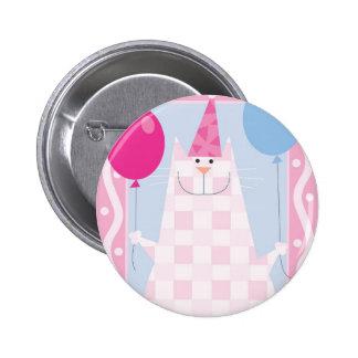 Birthday Cat Pin