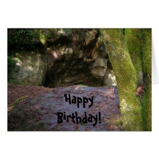 Birthday Caveman Card