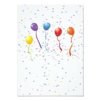 Birthday Celebration 1 11 Cm X 16 Cm Invitation Card