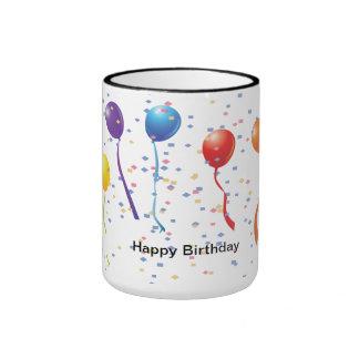 Birthday Celebration 1 Ringer Mug