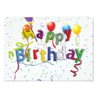 Birthday Celebration 3 Card