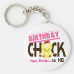 Birthday Chick 1 Key Chain
