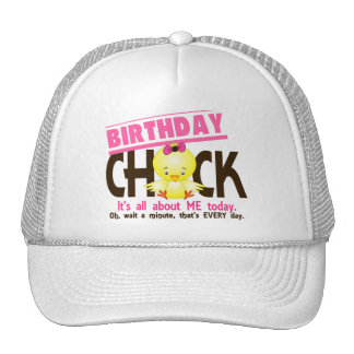 Birthday Chick 3 Mesh Hats