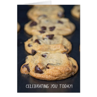 birthday chocolate chip cookies card