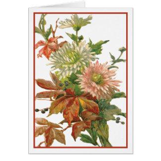 Birthday Chrysanthemums Card