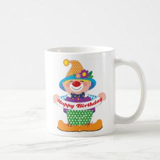 Birthday Clown Coffee Mug