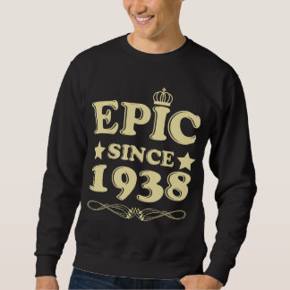 Birthday Costume For 80 Years Old. Sweatshirt