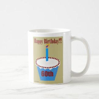 Birthday Cupcake 60th Coffee Mug