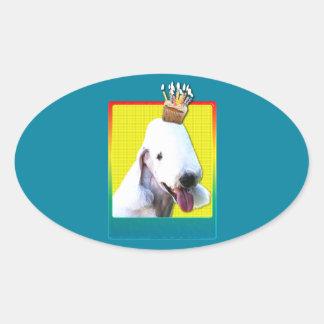 Birthday Cupcake - Bedlington Sticker