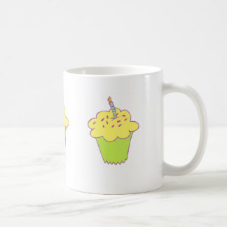 Birthday cupcake design coffee mug