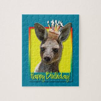 Birthday Cupcake - Kangaroo Jigsaw Puzzles