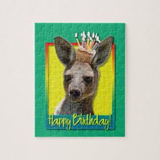 Birthday Cupcake - Kangaroo Puzzles