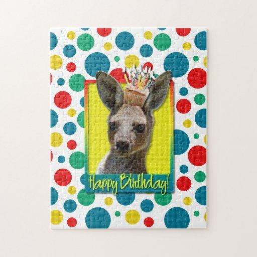 Birthday Cupcake - Kangaroo Jigsaw Puzzle