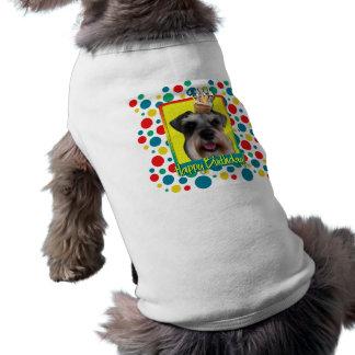 Birthday Cupcake - Schnauzer Doggie Tee Shirt