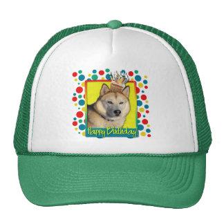Birthday Cupcake - Siberian Husky - Copper Cap
