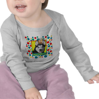 Birthday Cupcake - Siberian Husky Shirt