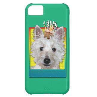 Birthday Cupcake - Westie - Tank iPhone 5C Cases