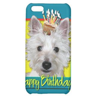 Birthday Cupcake - Westie - Tank iPhone 5C Case