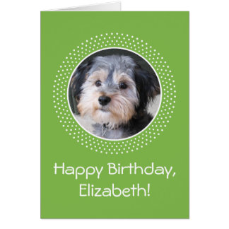 Birthday Customizable Photo Card