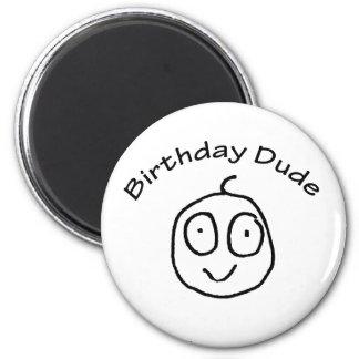 Birthday Dude Fun Tee Magnet