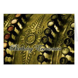 Birthday Economics  Priceless Card