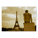 Birthday Eiffel Tower Greeting Card